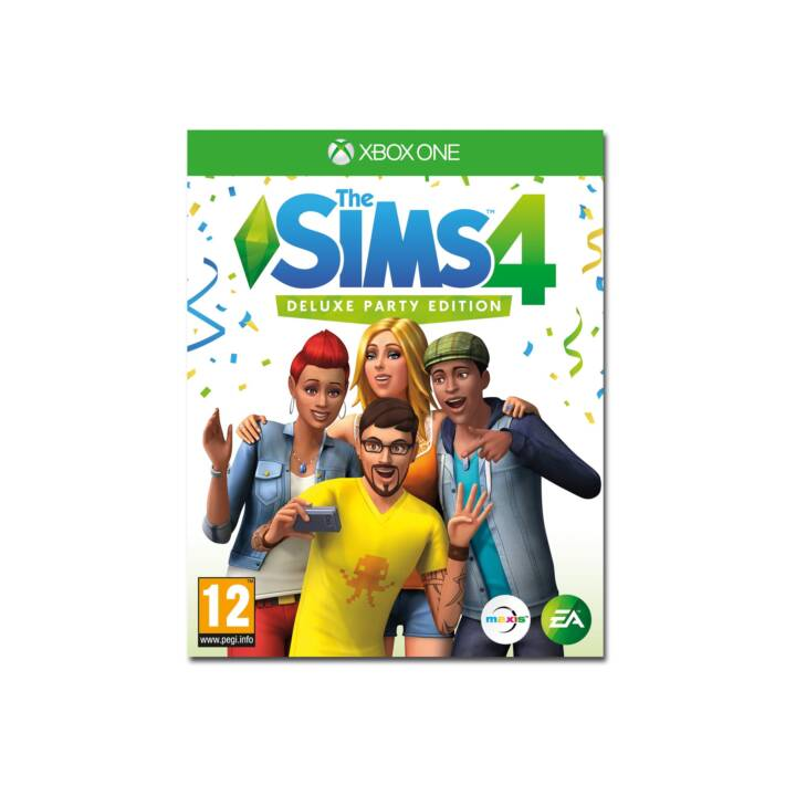 Les Sims 4 Deluxe Party Edition (DE/FR/IT)