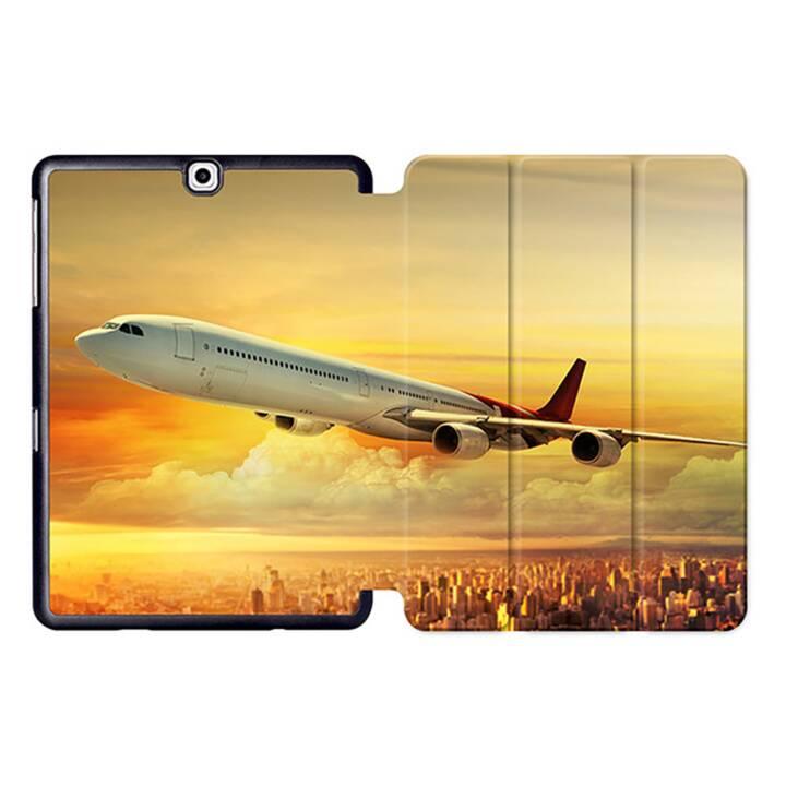 "EG MTT Tablet bag con coperchio pieghevole Smart per Samsung Galaxy Tab S2 9.7"" - Aerei"