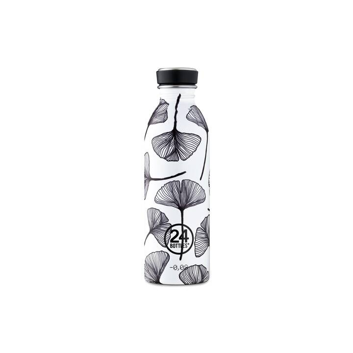 24BOTTLES Gourde Urban (500 ml, Noir, Blanc)