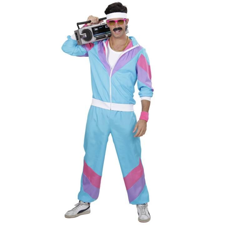 WIDMANN Tracksuit 80s XL Costumes pour adultes