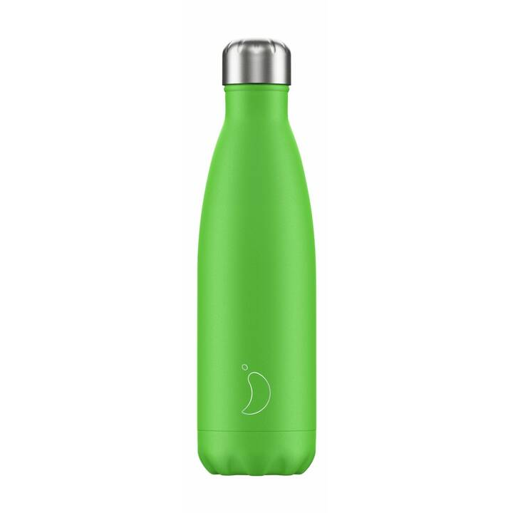 CHILLY'S Borraccia Neon (0.5 l, Verde chiaro)