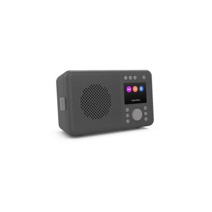 PURE Elan Radios numériques (Charcoal black)