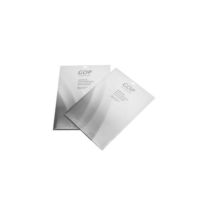 GMP PROGRAPHICS Pouches di plastificazione (A6, 125 µm, 100 pièce)