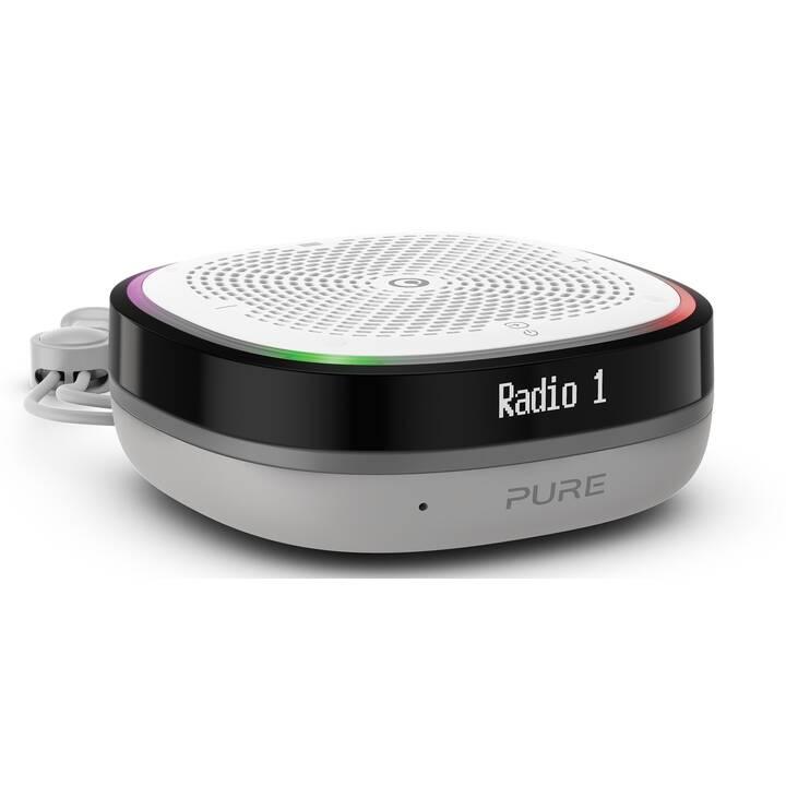 PURE StreamR Splash Radios numériques (Blanc, Noir)