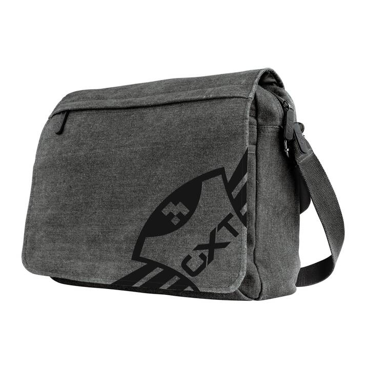 "TRUST GXT 1260 Yuni Gaming Messenger Bag (15.6"", Grau, Schwarz)"