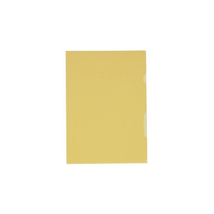 KOLMA RACER Copertura visiva Visa Superstrong A4 giallo 100 pezzi