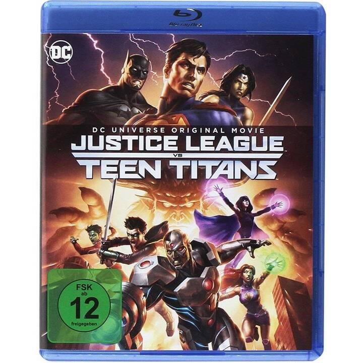 Justice League vs. Teen Titans (ES, DE, EN, FR)