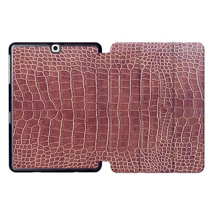 """EG MTT Sacoche à comprimés avec housse Smart pliable pour Samsung Galaxy Tab S2 9.7"""" - Snake Skin"""
