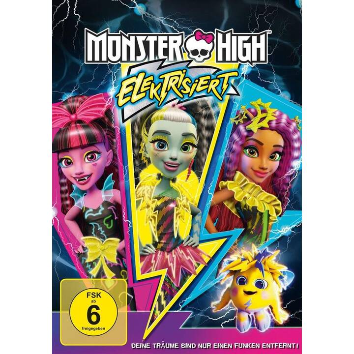 Monster High - Elektrisiert (DE, EN, FR, NL, IT, ES, TR)