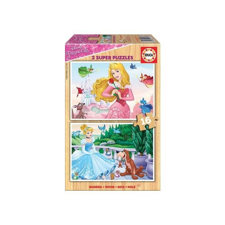 EDUCA Disney Princesses Puzzle (2 x 16 pièce)