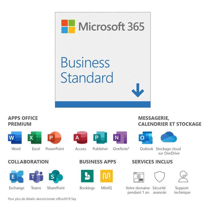 MICROSOFT 365 Business Standard (Abo, 1x, 1 Jahr, Französisch)