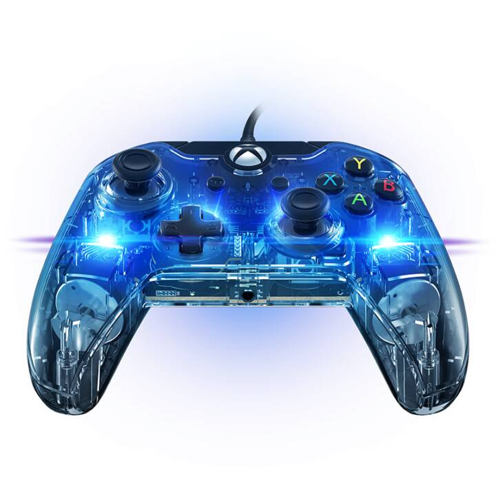 PDP Gamepad Afterglow Prismatic (Transparent)