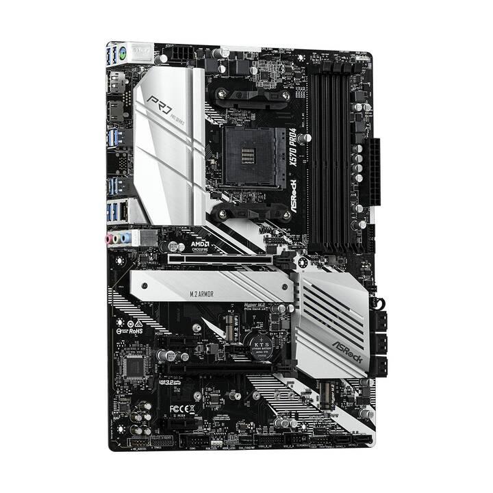 ASROCK X570 PRO4 (AM4, AMD X570, ATX)