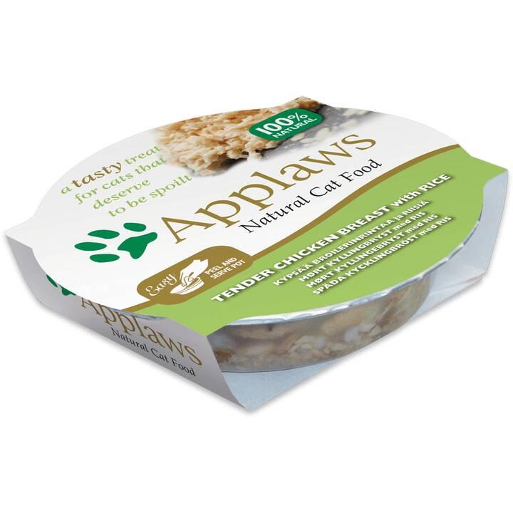 APPLAWS Cat Pot (Adult, 60 g, Huhn)