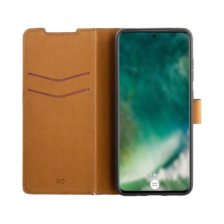 XQISIT Flipcover Wallet (Galaxy S20, Nero)