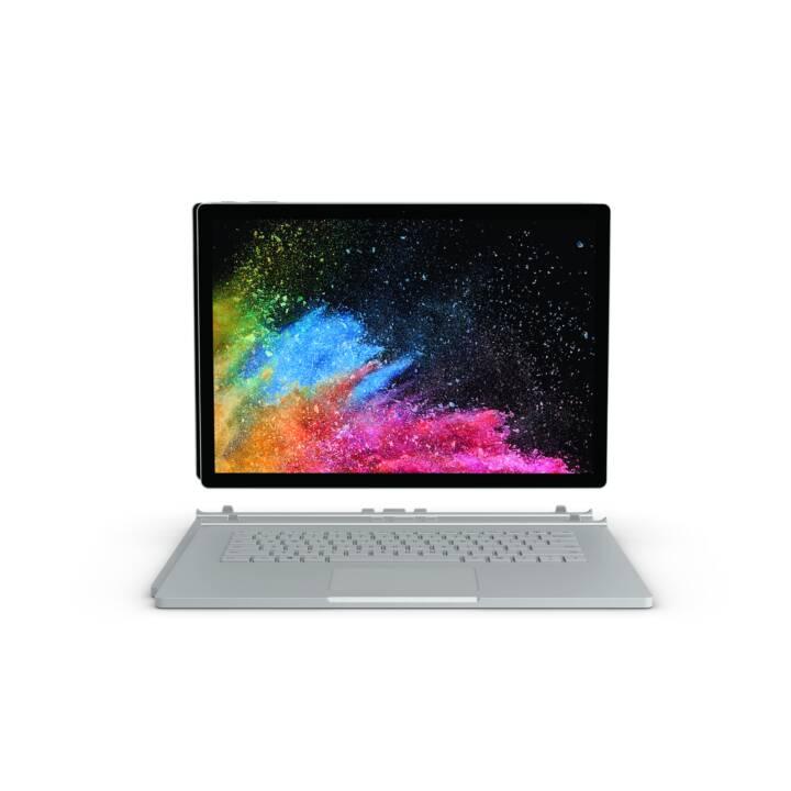 """MICROSOFT Surface Book 2, 15"""", i7-8650U, 16 GB di RAM, 512 GB di SSD"""