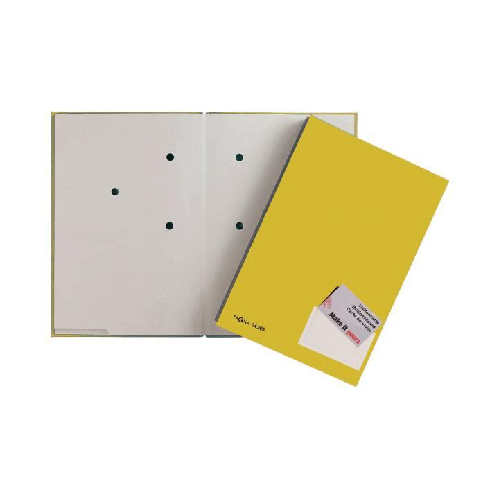PAGNA Unterschriftenmappe (Gelb, A4, 1 Stück)