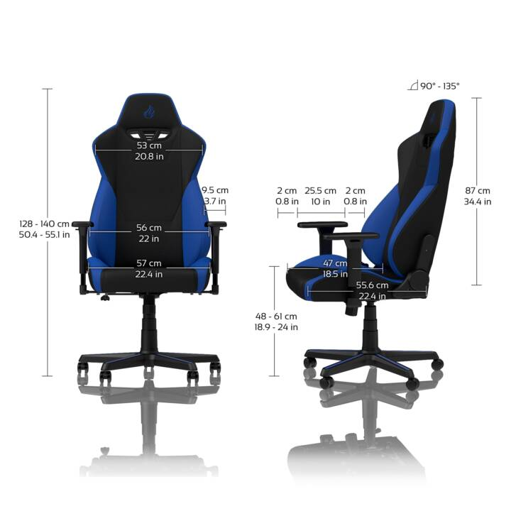 NITRO CONCEPTS Gaming Chaise S300  (135 kg)