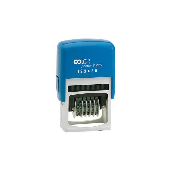 COLOP Nummernstempel 6-stellig 4mm