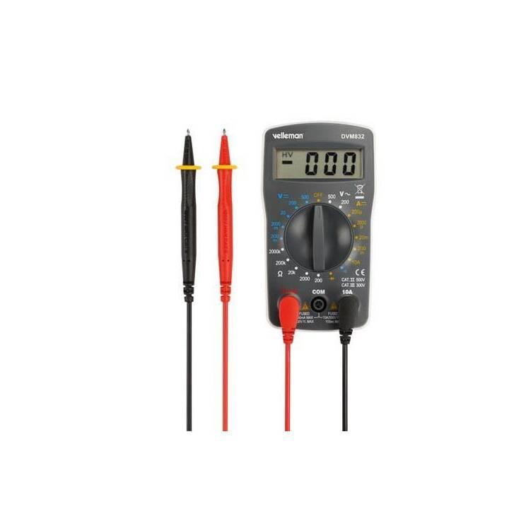 VELLEMAN Digital-Multimeter DVM832