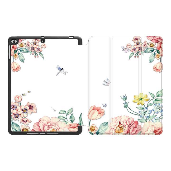 """EG MTT Hülle für Apple iPad Pro 2017 10.5"""" - Blumen"""