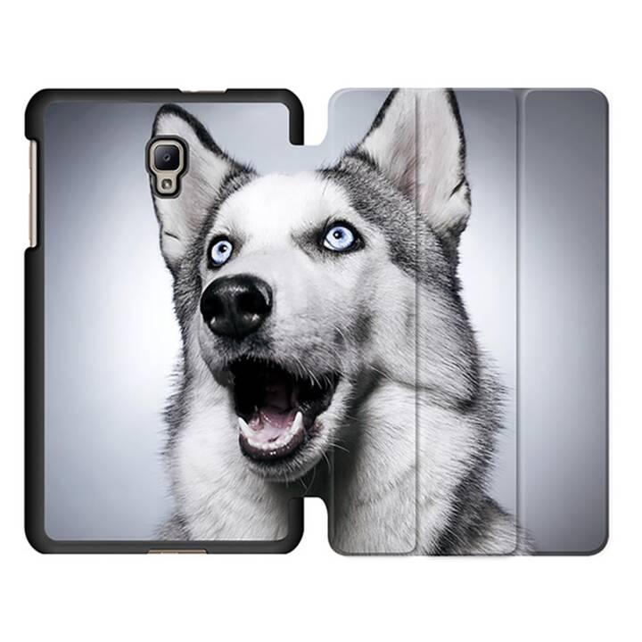 """EG MTT Tablet Tasche mit Smart faltbare Abdeckung für Samsung Galaxy Tab A 8"""" (2017)- Hund"""