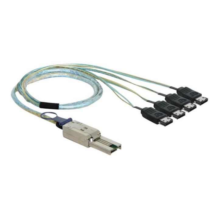 Cavo adattatore DELOCK SFF8088 - 4x eSATA 1 m