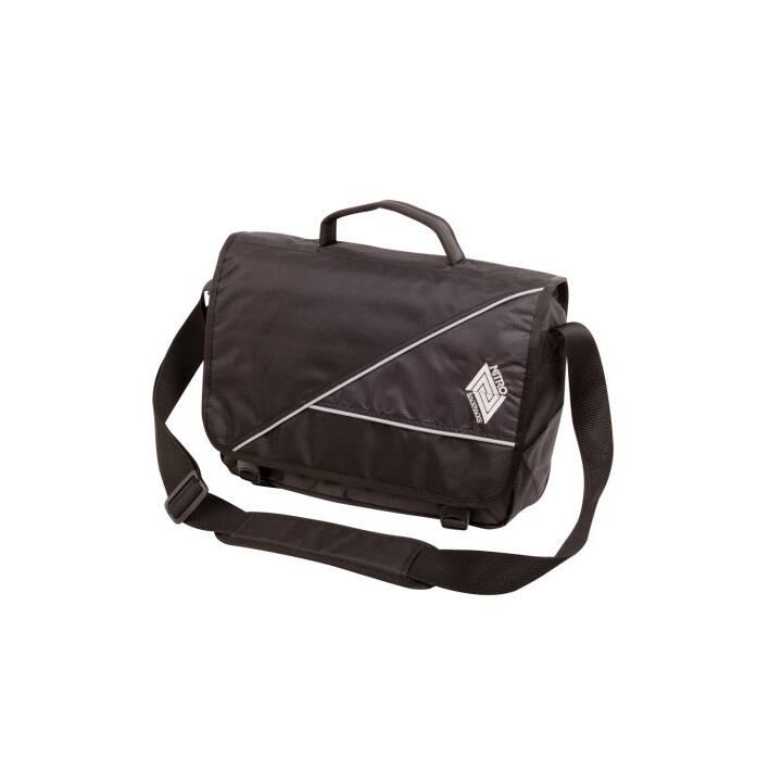 "NITRO Evidence Messenger Bag (15"", Nero)"