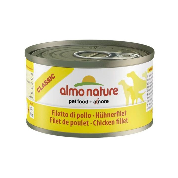 ALMO NATURE Natural Alimentation humide (95 g, Adulte)