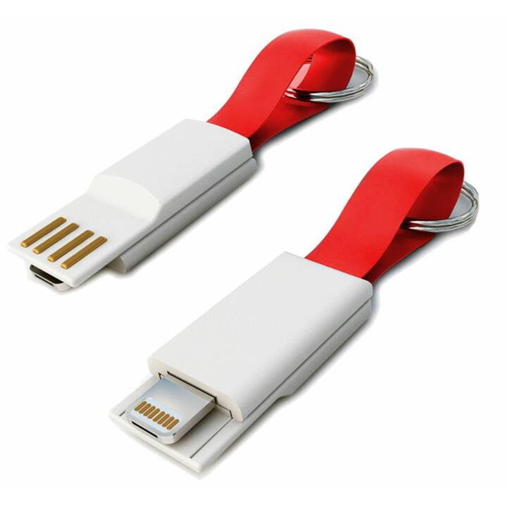 MIPOW 2in1 Ladekabel Micro-USB/Lightning