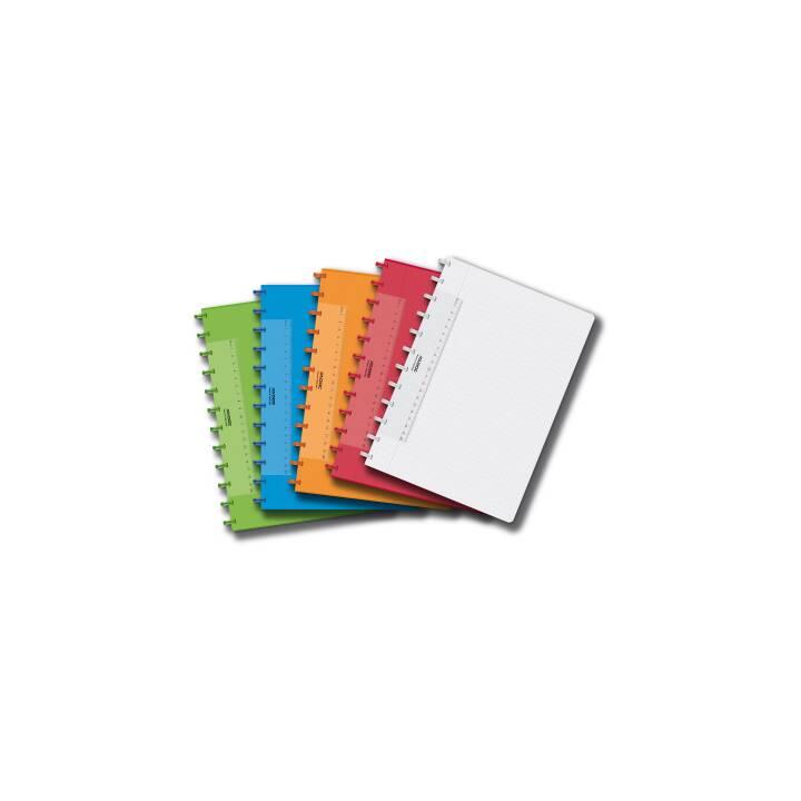 ADOC PAP-EX Book Colorlines A4 Multicolor pour ordinateur portable multicolore