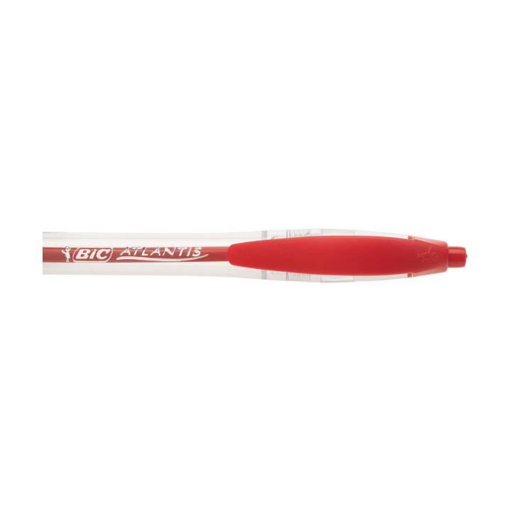 Penna a sfera BIC Atlantis Classic NF, rosso