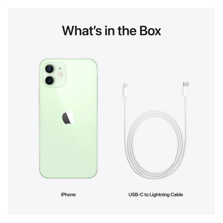 """APPLE iPhone 12 (5G, 6.1"""", 256 GB, 12 MP, Vert)"""