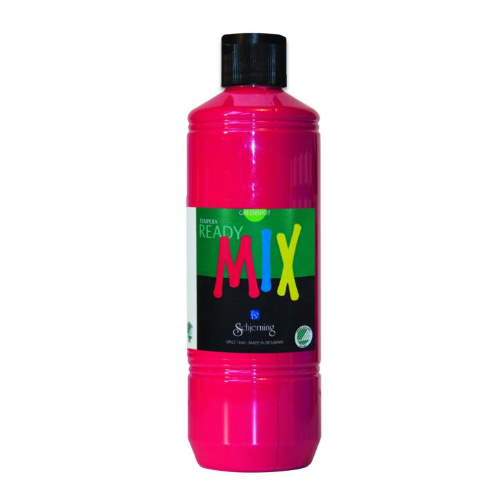 SCHJERNING Peinture pour bricolage ReadyMix (500 ml, Rouge rose)