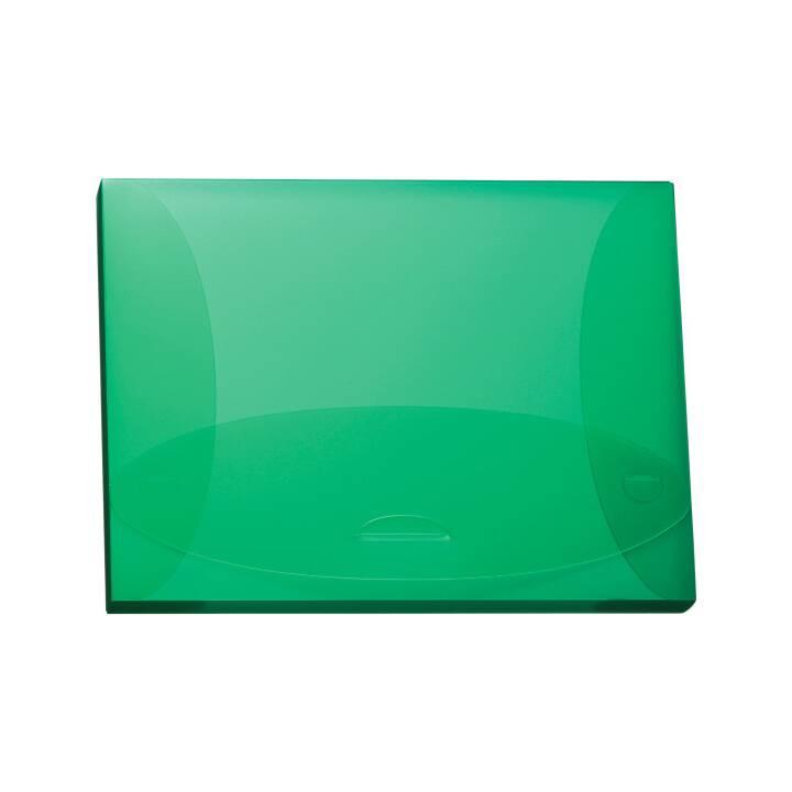 Scatola di raccolta KOLMA RACER Penda Easy 2,5 cm A4 verde