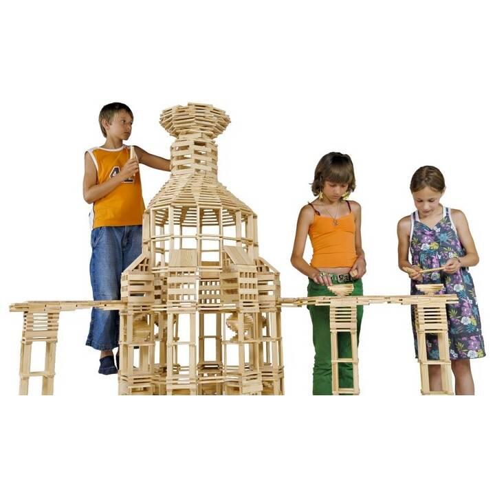 KAPLA Kit de construction en bois (200 x)