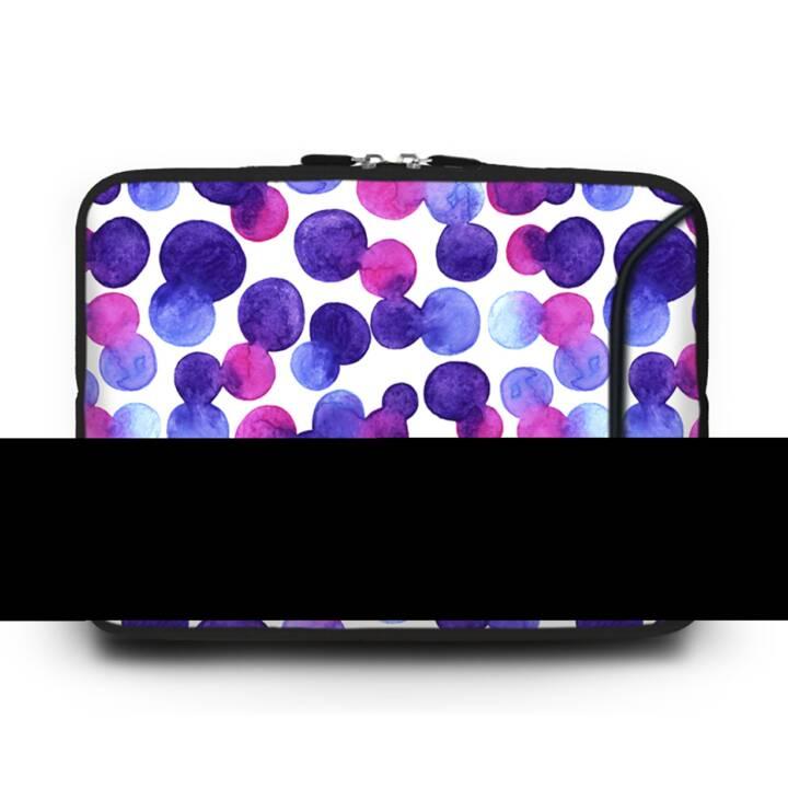 """EG HUADO Housse d'ordinateur portable pour 10"""" - Violet"""