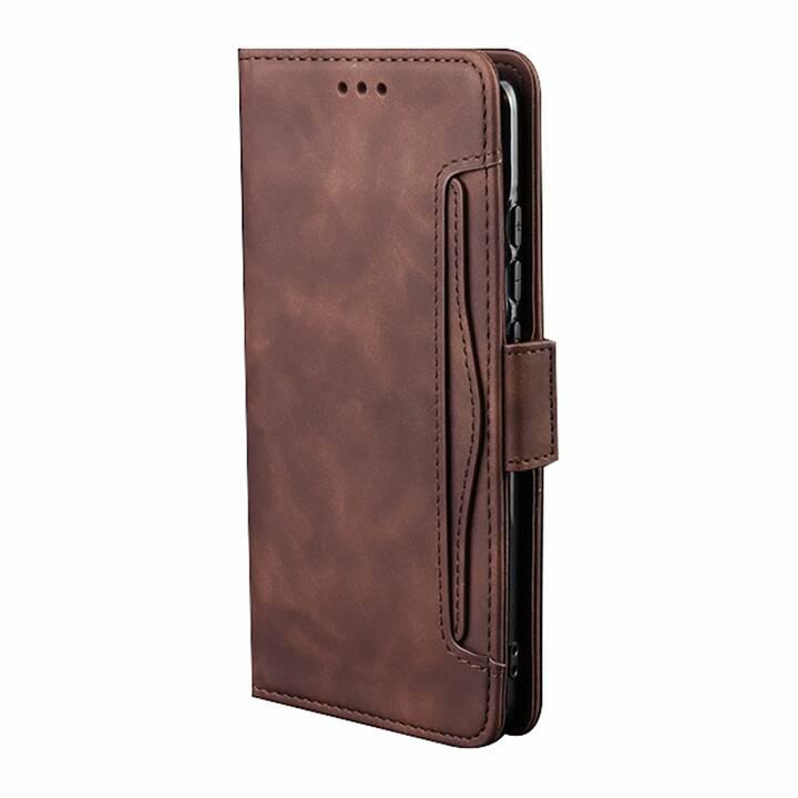 """EG MORNRISE Wallet Case für Samsung Galaxy Note 10 6.3"""" 2019 - Braun"""