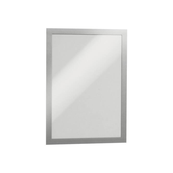 DURABILE cornice di presentazione Duraframe A4 2 pezzi argento