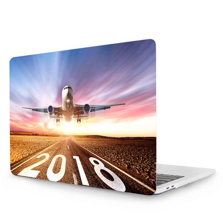 """EG MTT Laptop Cover für Macbook Pro 13"""" Touch Bar - Flugzeug"""