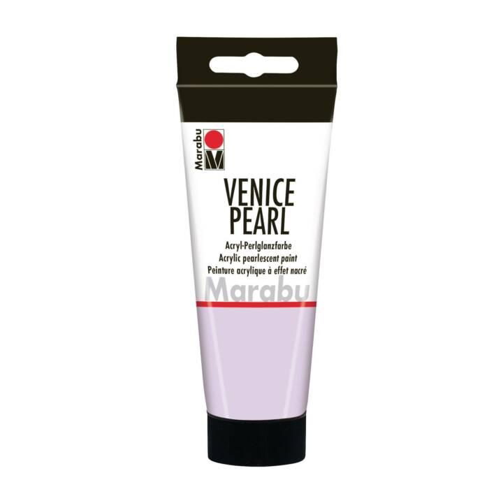 MARABU peinture acrylique nacrée perle de Venise 100 ml violet