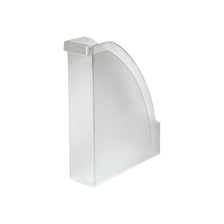 LEITZ Plus Collecteur sur pied, A4, transparent