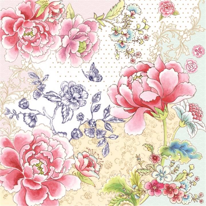 EASY LIFE Serviette en papier Easy Life (33 cm x 33 cm, 20 pièce, Façonné)