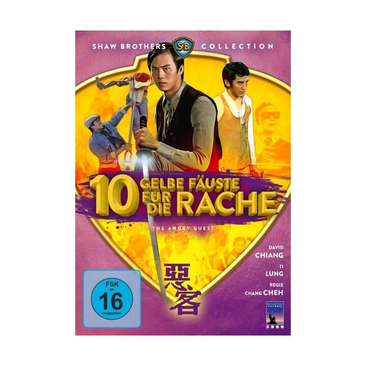 10 gelbe Fäuste für die Rache (DE, Mandarino)