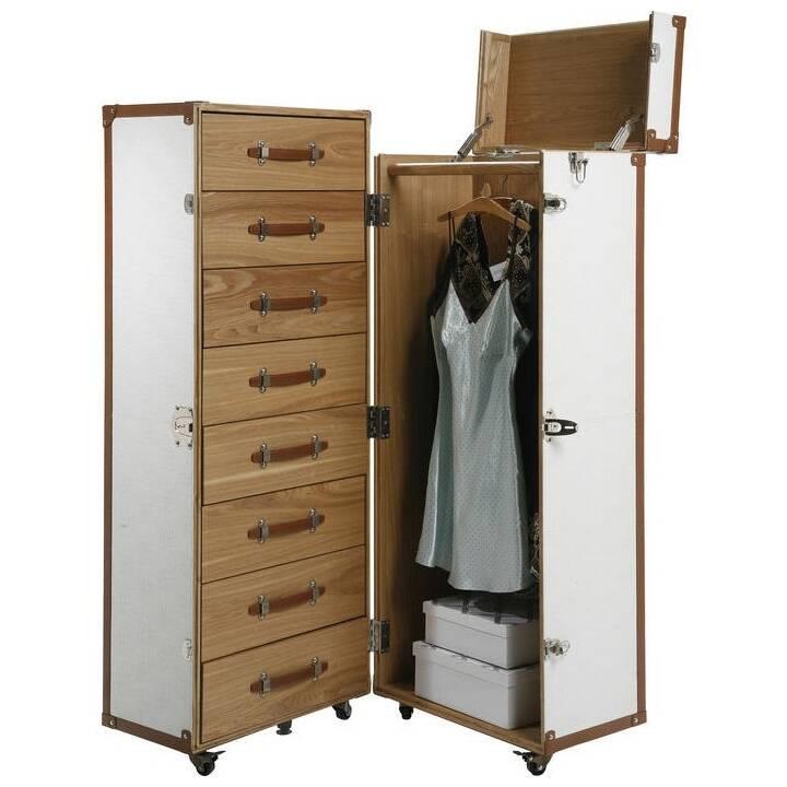 KARE Cosmopolitan Tronco guardaroba (56 cm x 62 cm x 145 cm)