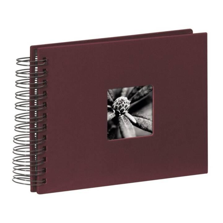 HAMA Album en spirale, 240x170 mm, Bordeaux