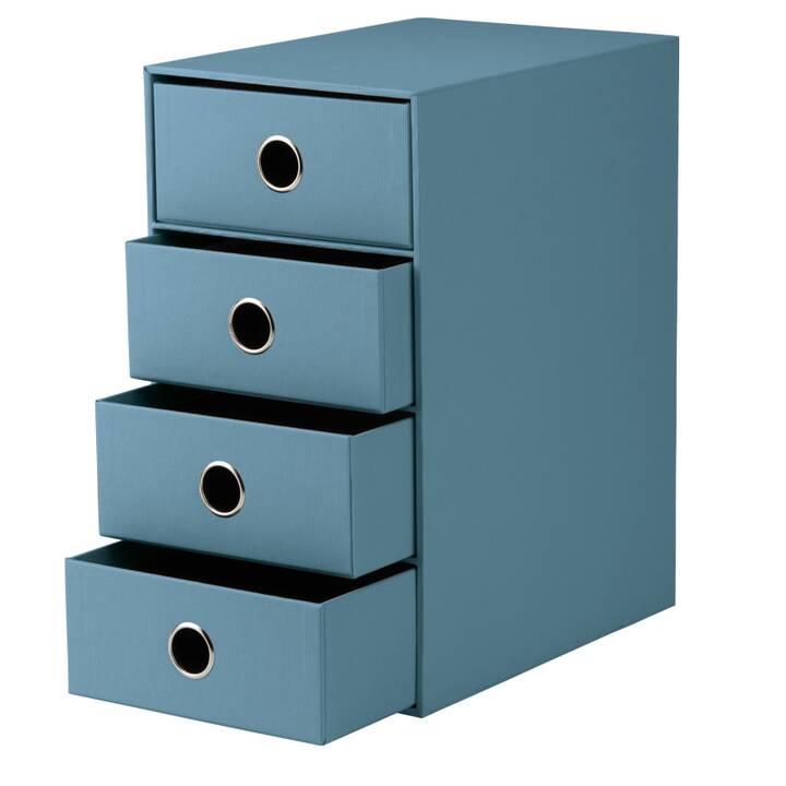 RÖSSLER PAPIER Büroschubladenbox (Blau)