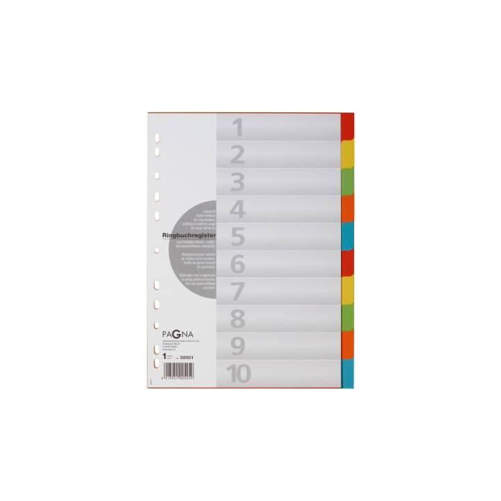 PAGNA Register Farblich (A4)