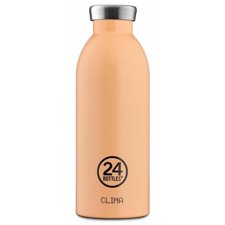 24BOTTLES Bottiglia sottovuoto Clima (0.5 l, Color pesca)