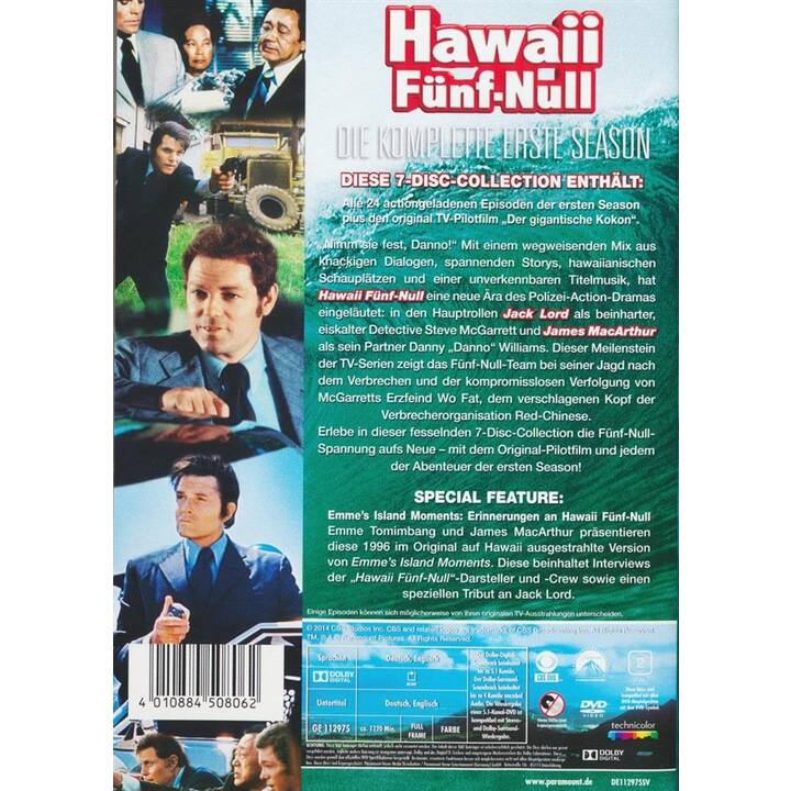 Hawaii Fünf-Null Saison 1 (DE, EN)